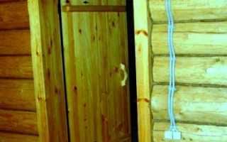 Дверь для бани из липы и ее основные особенности