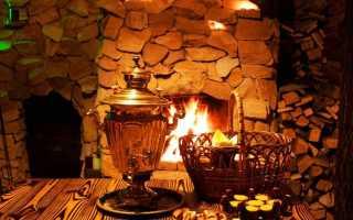 Печь-камин для бани: как обустроить своими руками