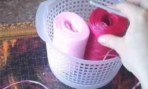 Как вязать мочалку крючком и спицами? Схемы, фото, видео