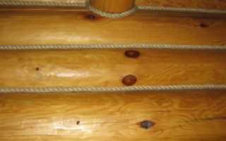 Чем конопатить сруб: надежные способы изоляции деревянного сооружения