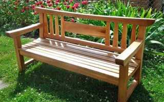 Все, что нужно знать для изготовления скамейки своими руками