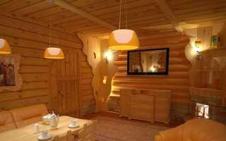 Мебель для комнаты отдыха в бане из дерева: последние тенденции банной моды