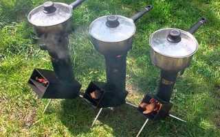 Реактивная печь для бани: как сделать своими руками