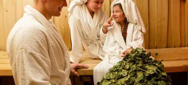 Семейная баня – совместный отдых всей семьи