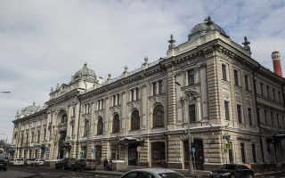 Сандуновские бани – архитектурный памятник Москвы