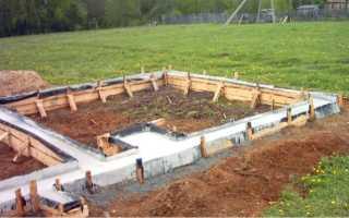 Как сделать фундамент под печь в баню: учимся у опытных строителей