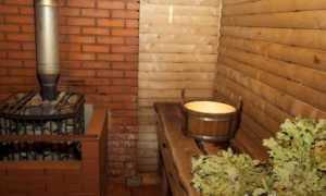 Деревенская баня простая русская своими руками