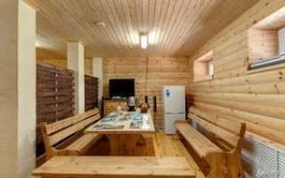 Интерьер сауны и комнаты отдыха: особенности дизайна