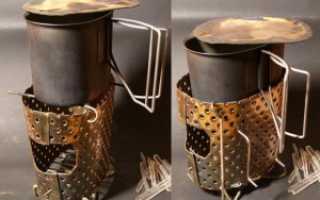 Походная печь: как правильно ее изготовить