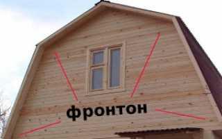 Как сделать фронтон крыши бани: практические советы самоделкиным