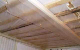 Утепление потолка бани: разные методы организации рабочего процесса