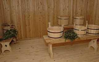 Как должна быть устроена моечная в бане