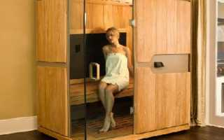 Домашняя мини-сауна в квартире – создаем себе повышенный комфорт