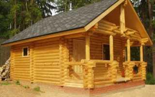 Строительство бани из бревна: изучаем правильную технологию