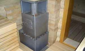 Каменная печь для бани: как сделать ее своими руками