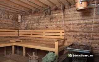 Парилка в бане: оптимальные способы обустройства помещения