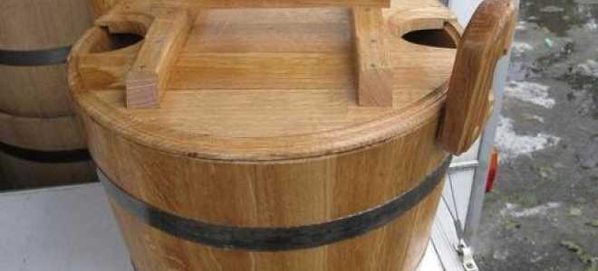Правильная эксплуатация деревянной купели – залог долговечности банного аксессуара