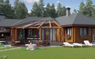 Проект летней кухни с баней: особенности строительства