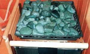 Эффективный жадеит для бани в каменку
